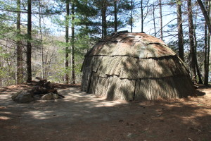 Traditional Shelter and Camp on Site, Estela Wilderness Education