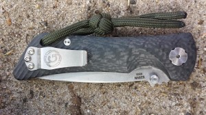 Estela Wilderness Education Spider Monkey Review. Closed Knife.