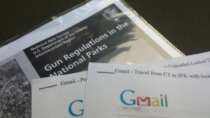 Travel with Firearms documentation