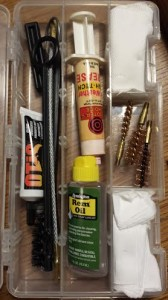 Kevin Estela firearms cleaning kit