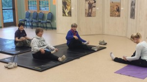 Yoga at the ELCCT