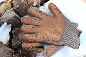 Buffalo Wool Company Wool Gloves