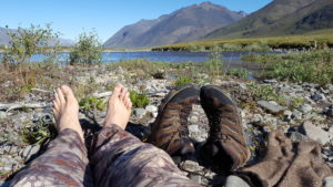 Drying socks and boots Alaskan Survival