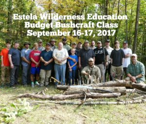 Estela Wilderness Education Budget Bushcraft in NY