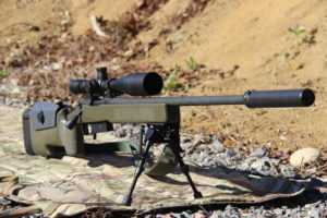 Remington 700 at the SIG Academy